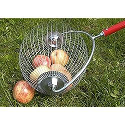 HorTera Collecteur de Pommes avec Panier de Collecte sans Plastique