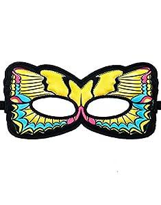 DREAMY DRESS-UPS 67817 - Máscara (Talla única), diseño de Mariposa, Cola de Tigre