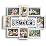 CASITA Pele mele Tribu 8 vues - 10x15cm - Blanc