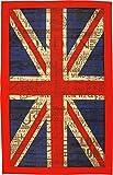 Vintage Torchon Torchon de cuisine 100% coton Motif drapeau Union Jack souvenir de Londres