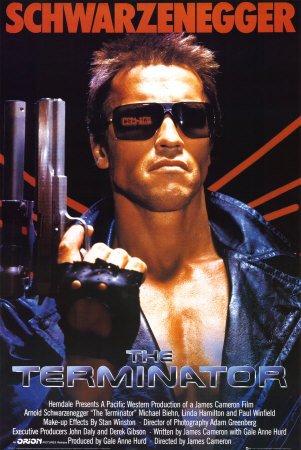 1art1 36927 Terminator - Filmplakat, Arnold Schwarzenegger Poster (91 x 61 cm)