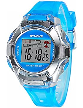 Children's electronic watch luminous-A