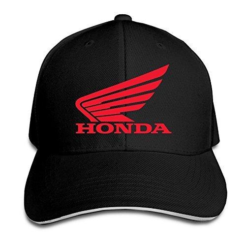 Hittings MayDay Honda Two Wheeler Sunbonnet Sandwich Cap Black Black