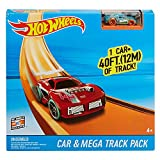Mattel Hot Wheels Megapista, Accesorios para Pistas y Coche de Juguete...