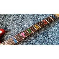 Numbers JB Fret Markers Inlay Stickers pegatinas Guitar & Bass Diapason ...
