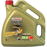 Castrol 15046C Power 1 Racing Engine Oil 10W-40 4T, 4L