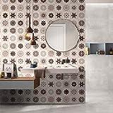 OHQ 60x200cm Selbstklebende Fliesen Boden Wandtattoo Aufkleber DIY Küche Badezimmer Dekor