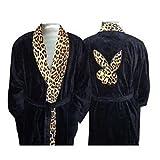 Playboy Bademantel Kimono Sauna Bad Leopard mit Bunny Größe XL Geschenk NEU WOW - All-In-One-Outlet-24 -