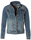 Pepe Jeans Damen Jacke Jeansjacke Thrift PL400755GD8 (Denim, S)