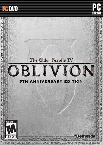 The Elder Scrolls IV: Oblivion - 5th Anniversary Edition Collector's SteelBook- PC by Bethesda (Scrolls Iv Elder Pc)