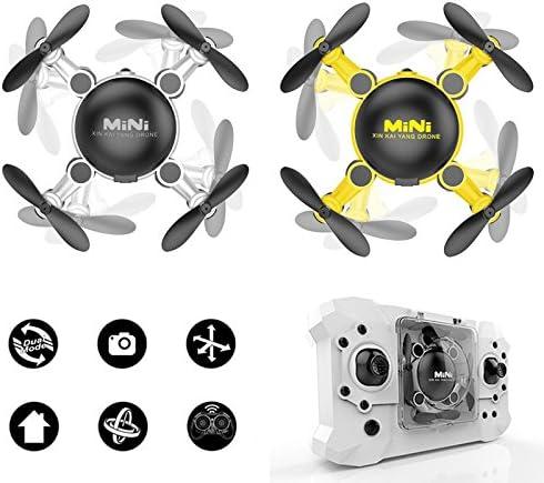 Cewaal Pliable Mini RC RC RC Drone pour les enfants Quadcopte avec Altitude Hold 3D Flips Mode sans tête Easy Fly pour les débutants 4fcb2b