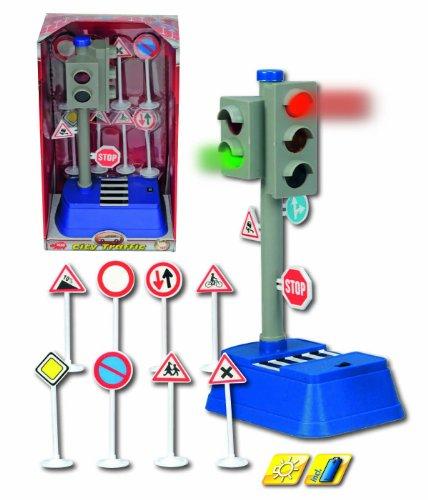 Imagen 2 de Dickie 20 331 3051  - Sistema de semáforos, señales de tráfico y señales de 8