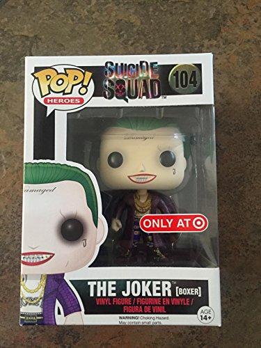 Funko - Figurine DC Heroes Suicide Squad - Joker Boxer Exclu Pop 10cm - 0849803086602