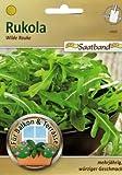Rukola Wilde Rauke Saatband für Balkon & Terrasse mehrjährig würziger Geschmack 43935