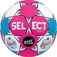Select Ultimate Replica EC France 2018de Balonmano, Todo el año, Color Pink weiß Blau, tamaño 1