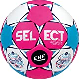 Select Ultimate Replica EC France 2018 Handball, pink weiß blau, 0