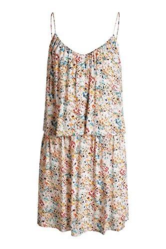 Esprit - Robe - Uni - Sans manche - Femme Multicolore (Peach Blush 692)