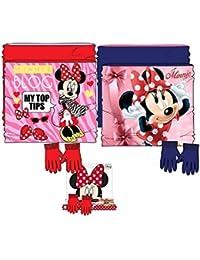 Disney Set invierno Braga de Cuello y Guantes Minnie Mouse RH4123