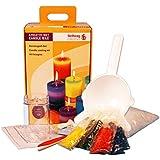 Candela stellwag 267207 bougies creativ set kit de bricolage