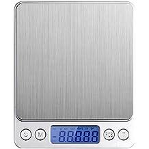 IDMAX Escalas de digital cocina,(300g /0.1g) Escala de alimentos,