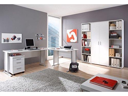 Arbeitszimmer Office Line 7-tlg in weiß
