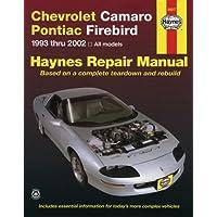 Chevrolet Camaro & Pontiac Firebird Automotive Repair Manual: All Chevrolet Camaro And Pontiac Firebird Models 1993-2002 - 2000 Pontiac Firebird
