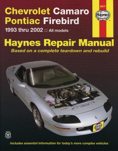 Chevrolet pontiac the best amazon price in savemoney chevrolet camaro pontiac firebird automotive repair manual all chevrolet camaro and pontiac firebird models fandeluxe Gallery