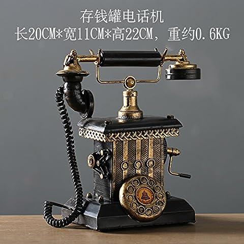 HOOM-Telefon Retro Dekoration Home Decor, klassisch per