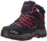 CMP Unisex-Kinder Rigel Trekking-& Wanderstiefel, Blau (Black Blue), 31 EU