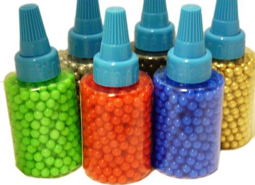 Softair 500 Kugeln versch Farben (Grün)