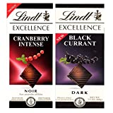 #7: Lindt Excellence Combo Of (Black Currant & Cranberry) Dark Chocolate, 100G