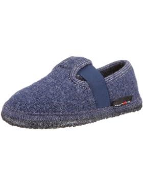 Haflinger Joschi 621002 - Zapatillas de casa de tela para niños