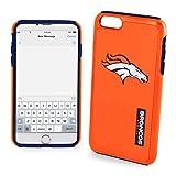 Forever Collectibles NFL Denver Broncos Auswirkungen TPU 2teilige Dual Hybrid iPhone 7/6/6S Cover–11,9cm Bildschirm nur
