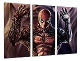 Cuadros Camara Multi Impressions Wood Art Print Box Tableau Cadre Mural à Suspendre-(Total Taille: 38x 24,4en), Super-héros, Spiderman, Marvel Comics-encadrée et prête à Suspendre-Ref. 26539
