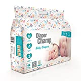 #3: Diaper Champ Baby Diapers, Small Size, 3 to 7kg, Chlorine & Paraben Free (44 Count)