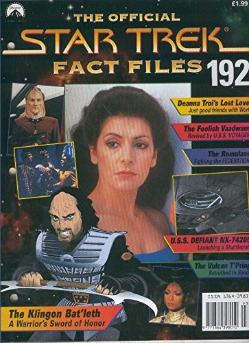 Star Trek Fact Files Pdf