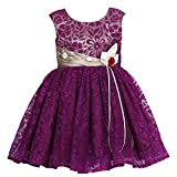 She Designs Girls' Dress (Sd_31_03_Wine ...