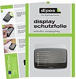 dipos I 3X Schutzfolie matt passend für Tomtom Go Professional 6200 Folie Displayschutzfolie