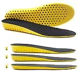 Ailaka elastischen stoßdämpfenden höhe wachsenden sport - schuh - einlage, weich, atmungsaktive honigwabe orthotic ersatz einlagen für männer und frauen