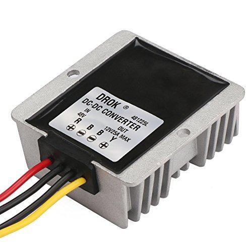 drokr-waterproof-dc-dc-buck-converter-48v-to-12v-25a-step-down-volt-regulator-car-power-supply-conve