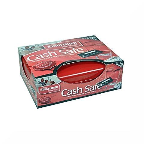 Kingfisher 25,4cm (25cm) en acier verrouillable Caisse & cadeau (Roll Top Home Office)