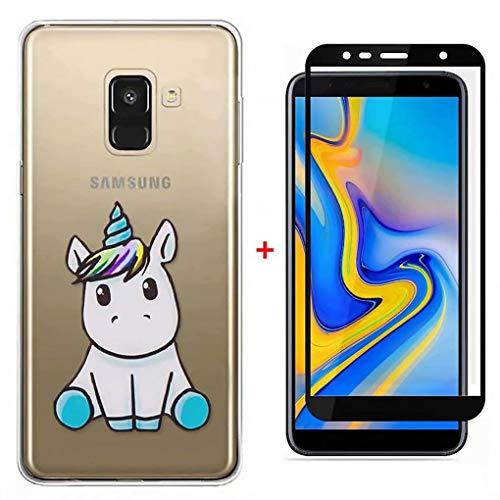 Qsdd Reemplazo Samsung Galaxy J4 Plus 2018 Ultra Thin