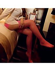 Mme summer tentation bas Chaussettes Chaussettes de soie et de la dentelle du genou, des chaussettes