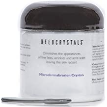 NeedCrystals Microdermabrasion Kristalle Weißes Aluminiumoxid Gesichtspeeling Körnung 120 Grit - 227 Gramm