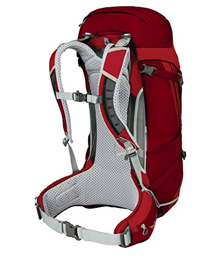 Osprey Herren Stratos Backpack, 63 x 33 x 31 cm, 36 Liter 3 beet red