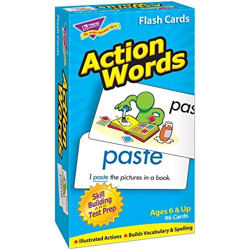 TREND UNTERNEHMEN T-Flash-Karten 53013 ACTION WORDS-96/BOX (Trend Flash-karten)