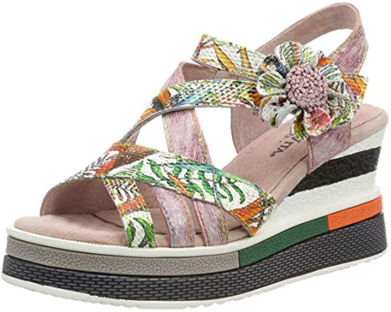 best sneakers a2818 fafc6 Laura 039, Vita Dacddyo 039, Laura Sandali Punta Aperta Donna 789910