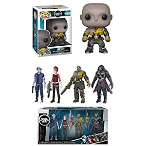 Funko POP Ready Player One Aech Vinyl Figure 4 Collectible Action Figures Pack Parzival Art3mis Aech I Rok Bundle Set NEW