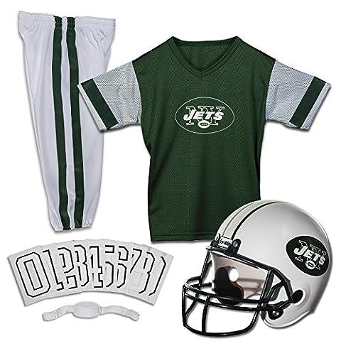 Kids NFL Jets Helmet and Uniform Set