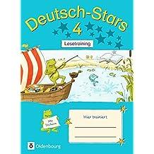 Deutsch-Stars - Allgemeine Ausgabe: 4. Schuljahr - Lesetraining: Übungsheft. Mit Lösungen